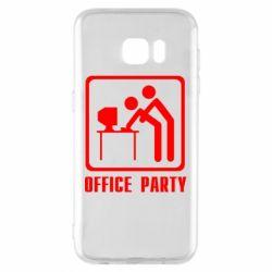 Чехол для Samsung S7 EDGE Office Party