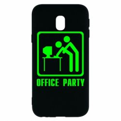 Чехол для Samsung J3 2017 Office Party