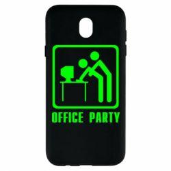 Чехол для Samsung J7 2017 Office Party