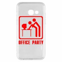 Чехол для Samsung A3 2017 Office Party