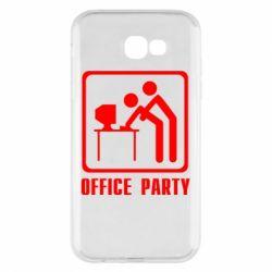 Чехол для Samsung A7 2017 Office Party
