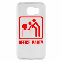 Чехол для Samsung S6 Office Party