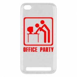 Чехол для Xiaomi Redmi 5a Office Party