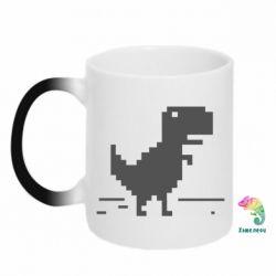 Кружка-хамелеон Offline T-rex - FatLine