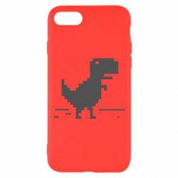 Чехол для iPhone 7 Offline T-rex - FatLine