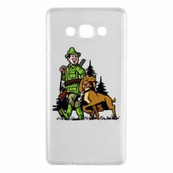 Чохол для Samsung A7 2015 Мисливець з собакою
