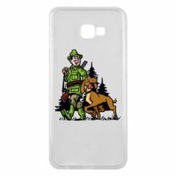 Чохол для Samsung J4 Plus 2018 Мисливець з собакою