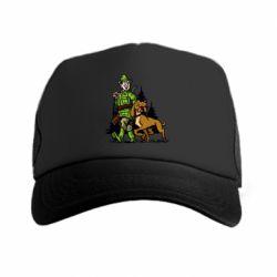 Кепка-тракер Охотник с собакой - FatLine