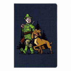 Блокнот А5 Мисливець з собакою