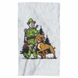 Рушник Мисливець з собакою