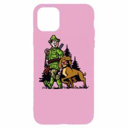 Чохол для iPhone 11 Pro Max Мисливець з собакою