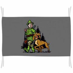 Прапор Мисливець з собакою