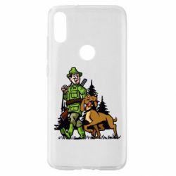 Чохол для Xiaomi Mi Play Мисливець з собакою