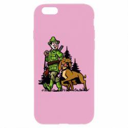 Чохол для iPhone 6 Plus/6S Plus Мисливець з собакою