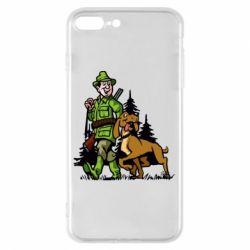 Чохол для iPhone 8 Plus Мисливець з собакою