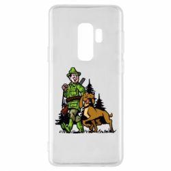 Чохол для Samsung S9+ Мисливець з собакою