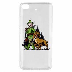 Чохол для Xiaomi Mi 5s Мисливець з собакою