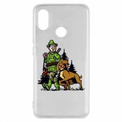 Чохол для Xiaomi Mi8 Мисливець з собакою