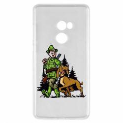 Чохол для Xiaomi Mi Mix 2 Мисливець з собакою