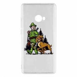 Чохол для Xiaomi Mi Note 2 Мисливець з собакою