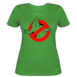 Женская футболка Охотники за привидениями - FatLine
