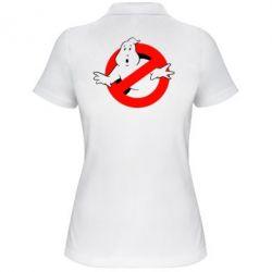 Женская футболка поло Охотники за привидениями - FatLine