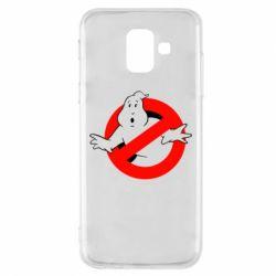 Чехол для Samsung A6 2018 Охотники за привидениями