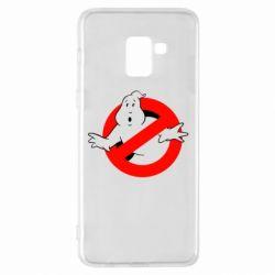 Чехол для Samsung A8+ 2018 Охотники за привидениями