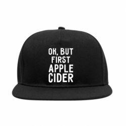 Снепбек Ok, but first Apple Cider