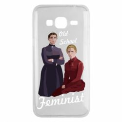 Чохол для Samsung J3 2016 Old School Feminist