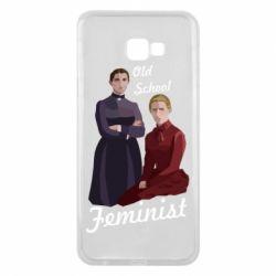 Чохол для Samsung J4 Plus 2018 Old School Feminist