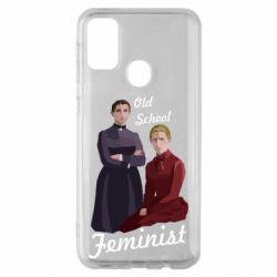 Чохол для Samsung M30s Old School Feminist