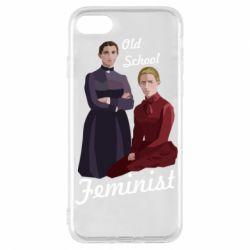 Чохол для iPhone 7 Old School Feminist