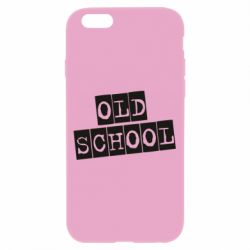 Чохол для iPhone 6/6S old school