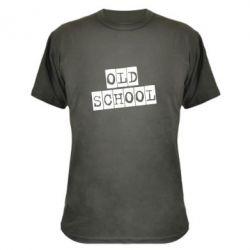 Камуфляжна футболка old school