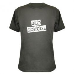 Камуфляжная футболка old school