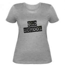 Жіноча футболка old school