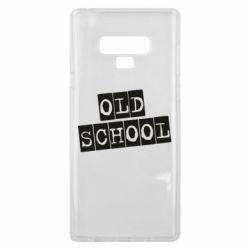 Чохол для Samsung Note 9 old school