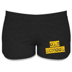 Женские шорты old school