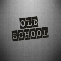 Наклейка old school