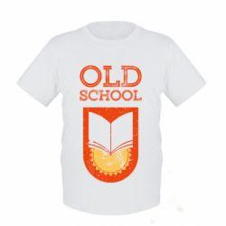 Дитяча футболка Old school