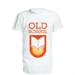 Подовжена футболка Old school