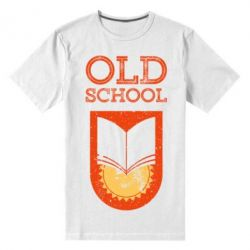 Чоловіча стрейчева футболка Old school