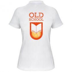 Жіноча футболка поло Old school