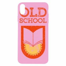 Чохол для iPhone X/Xs Old school