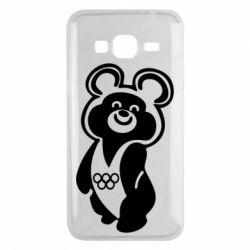 Чохол для Samsung J3 2016 Олімпійський Ведмедик