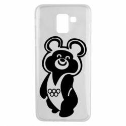 Чохол для Samsung J6 Олімпійський Ведмедик