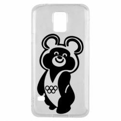 Чохол для Samsung S5 Олімпійський Ведмедик