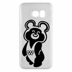 Чохол для Samsung S6 EDGE Олімпійський Ведмедик