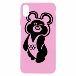 Чохол для iPhone Xs Max Олімпійський Ведмедик
